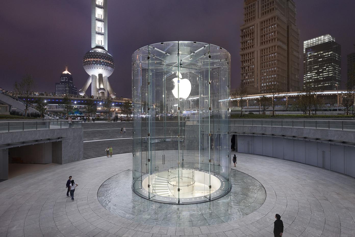 香港ifc苹果店地址_浦东AppleStore零售店
